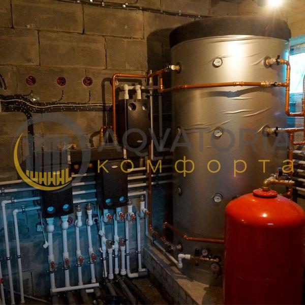 Монтаж газового настенного одноконтурного котла